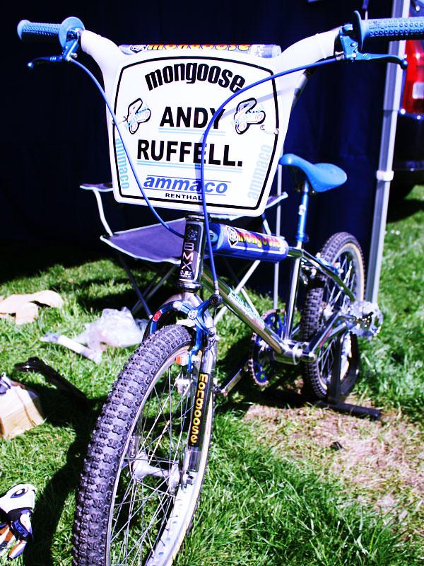 Mongoose Pro Class BMX bike