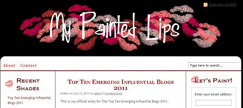 emerging blog_my painted lips