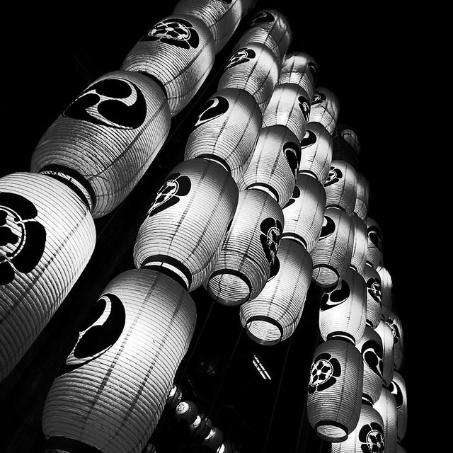 提灯の灯り