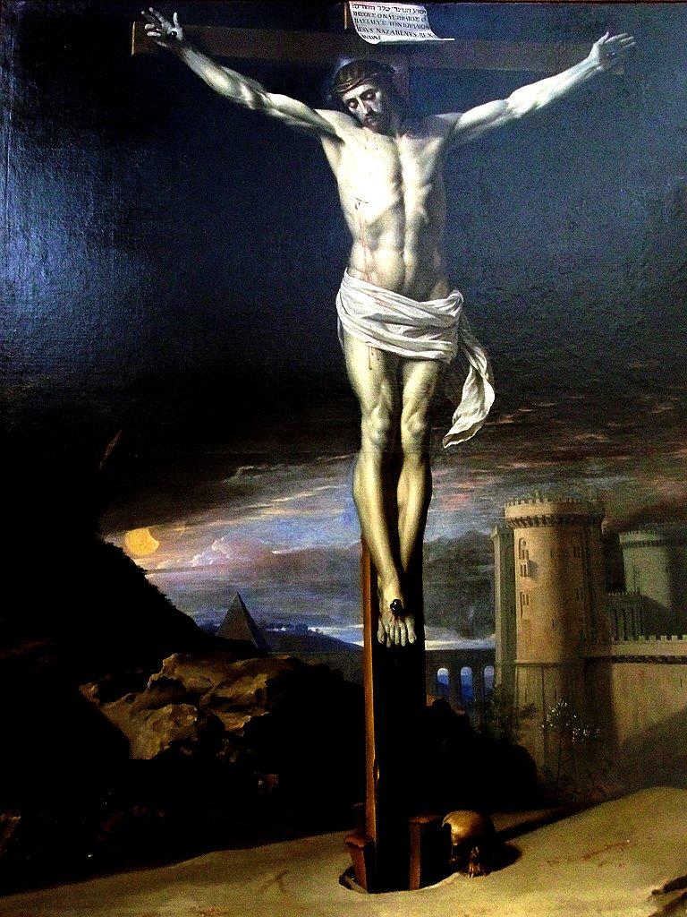 Philippe de Champaigne, Le Christ mort sur la Croix, (1655)