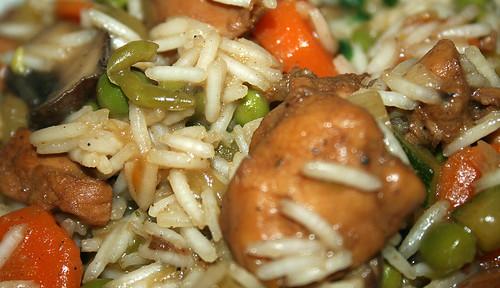 38 - Ingwer-Hähnchenpfanne / Ginger chicken stew - CloseUp