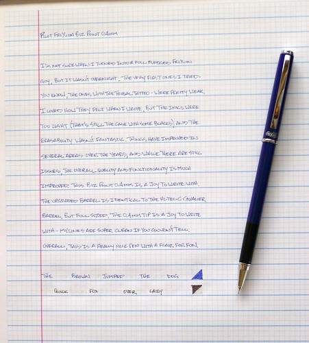 Pilot FriXion Biz Point 0.4mm Blue