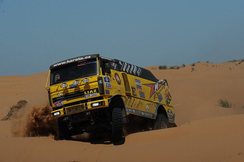 Loprais-Silk Way Rally 2011