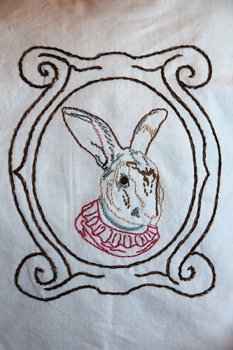 Ms. Bunny Embroidery