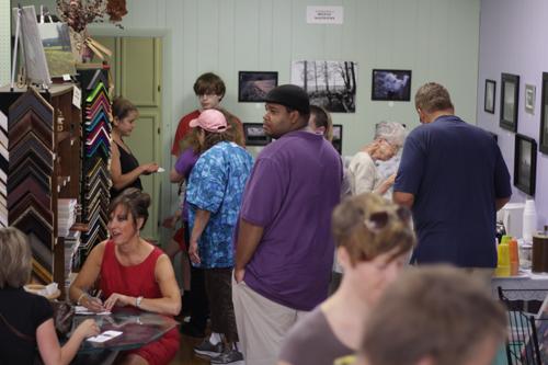 Benefit Art Show Attendance