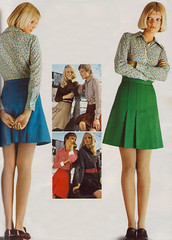 The 1970s-1972 mini-skirts (april-mo) Tags: miniskirt the1970s vintageminiskirt 1970sminiskirt 1972fashion