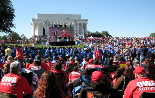 One Nation Rally-LC JumboTron