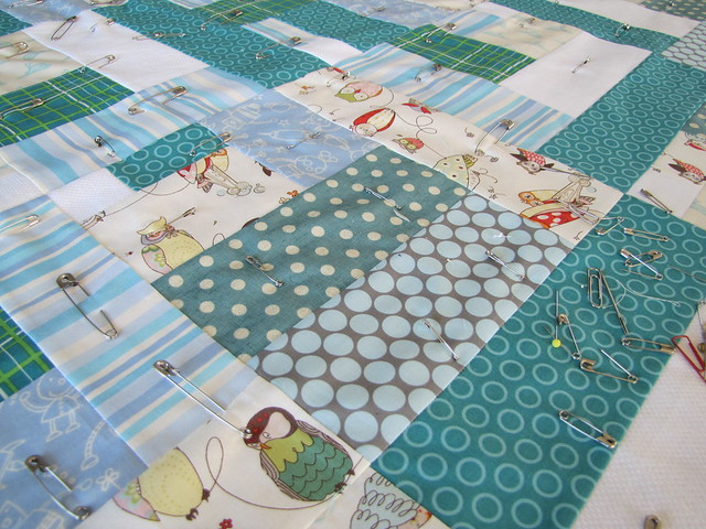 baby quilt in motion
