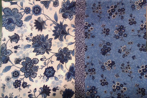 pillow cases blue 22july11 by KnitterinProgress