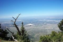 Sandia Peak Hang Gliding