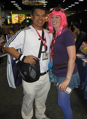 Todd & Ramona (Scott Pilgrim) cosplay at Comic-Con 2011