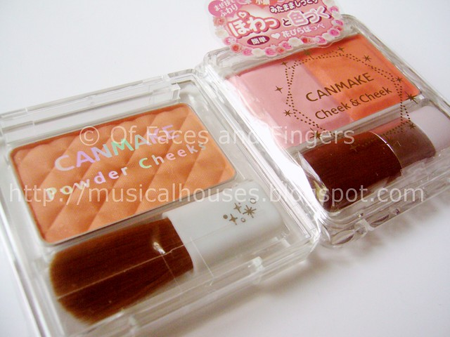 canmake powder cheek orange products