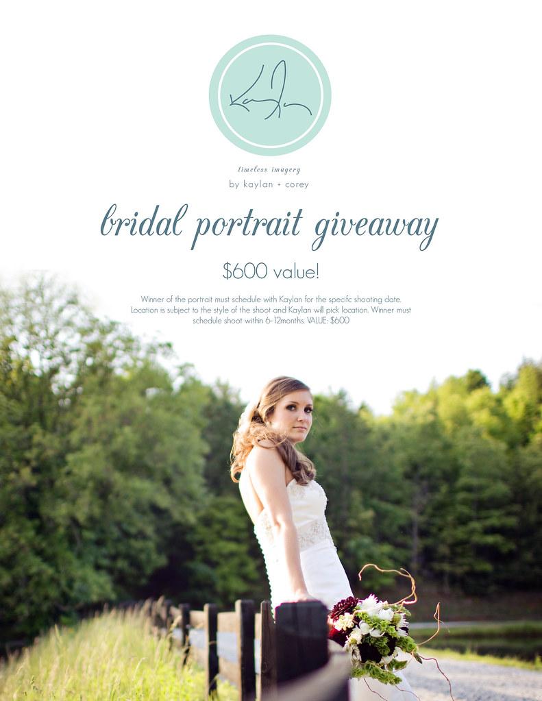 Bridal Portrait Giveaway