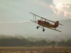 Adventure (sam2cents) Tags: ireland plane atmosphere adventure wicklow swashbuckling biplane stunts goodolddays derringdo