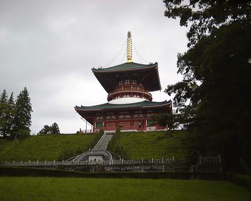 Shinshoji Temple, Narita - Tahoto pagoda