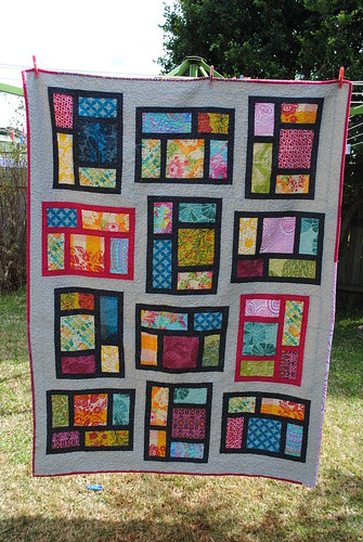 Kitchen Window quilt #2 Finished!!