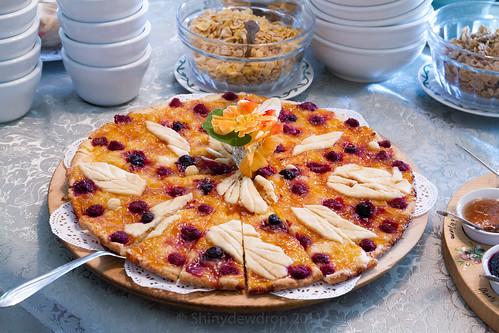 Auberge La Chatelaine Breakfast