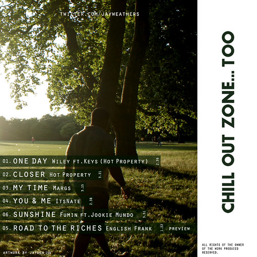 CHILL OUT ZONE TOO - TRACKLIST
