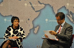 Baroness Falkner and Robin Niblett (Chatham House, London) Tags: chathamhouse internationalrelations internationalaffairs royalinstituteofinternationalaffairs