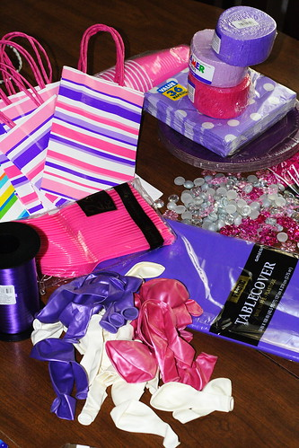 Ellie5th Birthday preparations 15