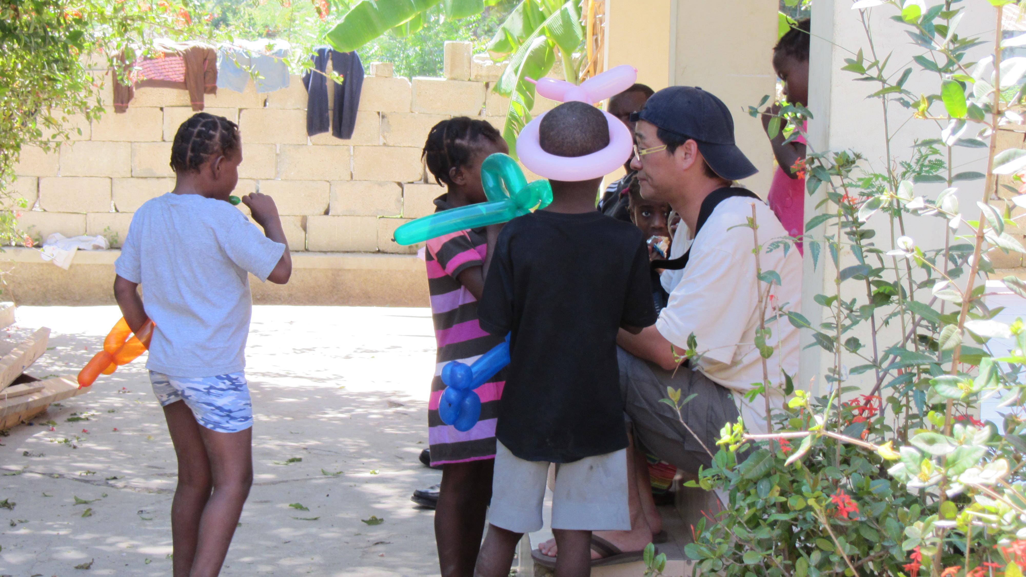 2011 아이티단기선교 고아원 (2)