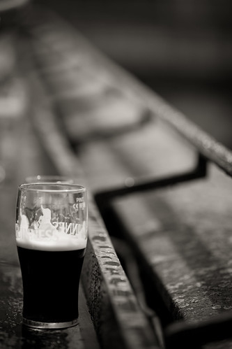 599/1000 - Guinness in the rain by Mark Carline