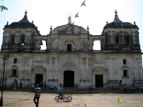 Leon Nicaragua Cathedral Largest In Central America