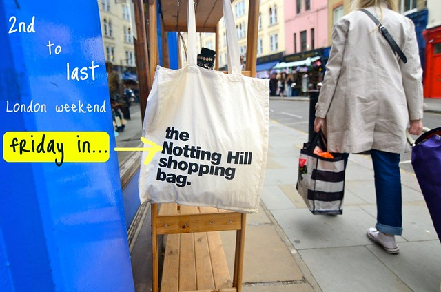 notting hill shopping bag