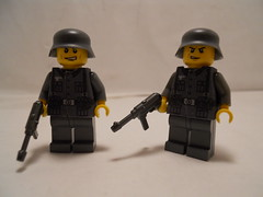 Infantry (THEBrickTrooper) Tags: lego german ww2 americans minifig axis allies brickarms mmcb
