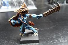 Skink (Camper_Bob) Tags: miniature paint warhammer skink lizardmen