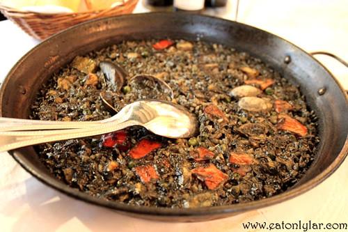 Arròs negre, Restaurant 7 Portes