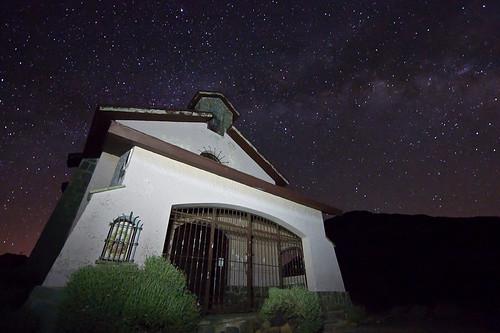 Fotografía Nocturna de la vía láctea en las cañadas del Teide