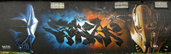 Vador by Sinke Sinke Grevious by Kalees (kalees one) Tags: paris france graffiti starwars thc nok udn pck kalis grk kalees sinke