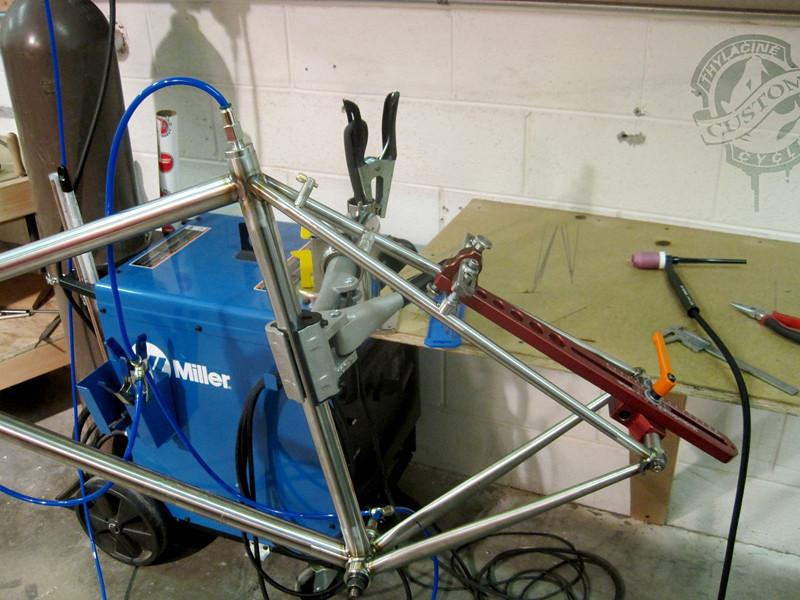 THYLACINE CYCLES - KVA Stainless MS2 bike tubing