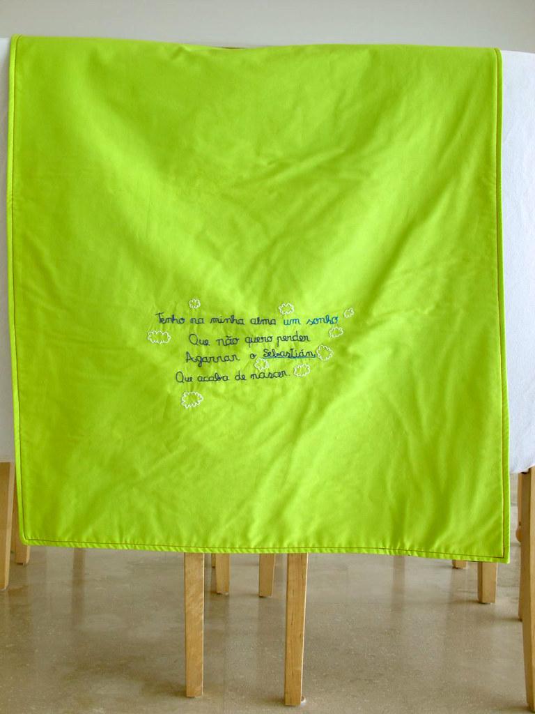"""""""Sebastián"""" baby blanket"""