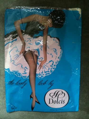 Denier Nylon Tights from circa 1950s