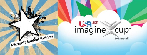 Microsoft Student Partner and Imagine Cup 2011 Logos