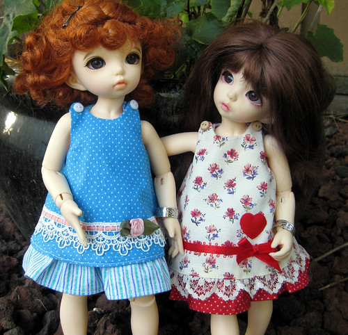 New Dresses for the Lil'Fees