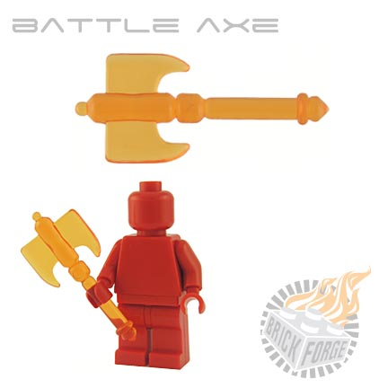 Battle Axe (of Fire) - Trans Orange