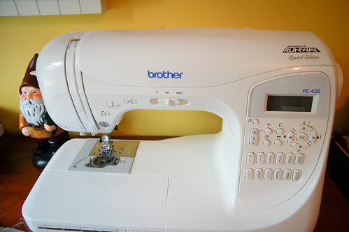 My wonderful Sewing Machine