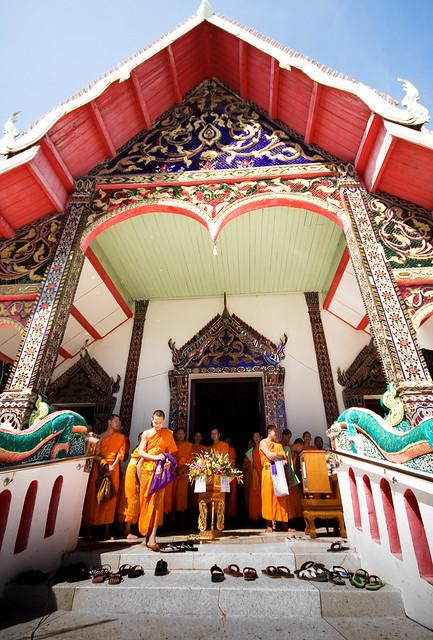 Wat Mor Som, Lampang, Thailand.