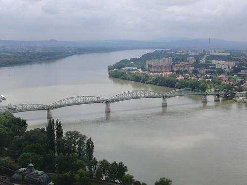 El Danubio visto desde Esztergom