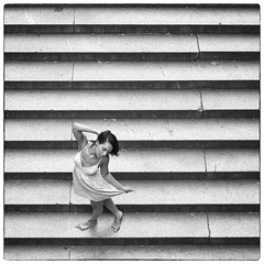 The Pose (CVerwaal) Tags: nyc newyorkcity girls newyork stairs lumix centralpark steps posing panasonic bethesdaterrace weasley lumix20mmf17 panasonicg3