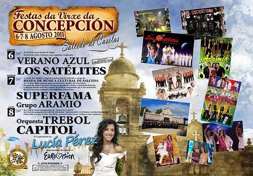 Salceda de Caselas 2011 - Festas da Concepción - cartel