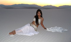 W1 (Grizzalee) Tags: model photoshoot crystal whitesands bellydancer bellydance sands asianmodel crystallee