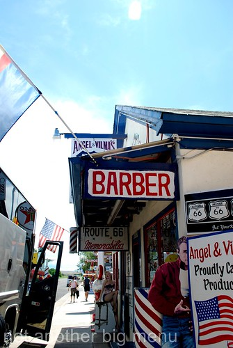 Las Vegas, Nevada - Route 66 signs - Barber