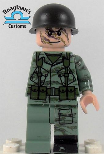 Custom minifig tiger camo wip