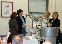Westerville Mayor, Kathy Cocuzzi & Friends president, Arlene (Westerville Library) Tags: ohio westerville pbs luncheon prohibition morocca temperance kenburns localhistory westervilleohio centralohio cbssundaymorning lynnnovick antisaloonleaguemuseum