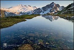 1461. (koaflashboy) Tags: reflection backpacking northcascades northcascadesnationalpark whatcompass mtchallenger whatcompeak canon7d
