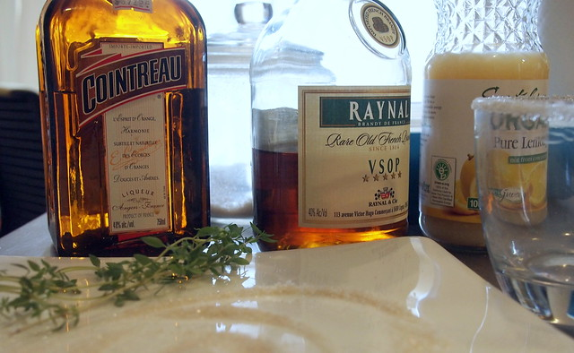 It's about Thyme, Sidecar ingredients
